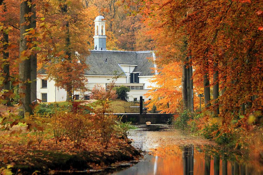 Herfst op Landgoed Staverden, foto Miez Peek