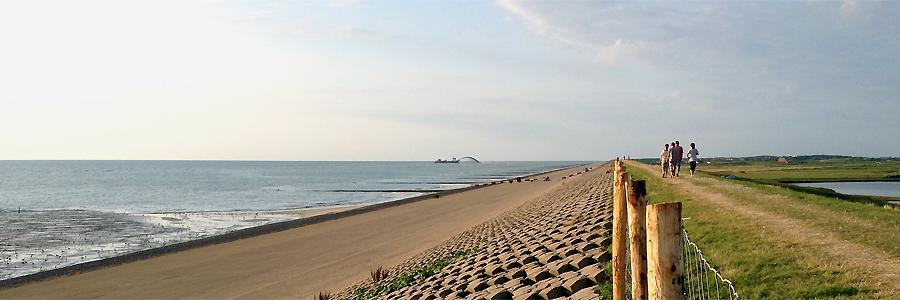 De duinen komen er aan, foto Hugo van Bercum